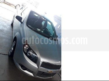 Foto venta Auto usado Chevrolet Aveo LT (2016) color Plata precio $155,000