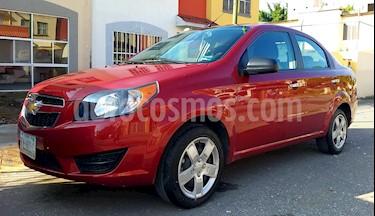 Foto Chevrolet Aveo LT usado (2018) color Rojo Tinto precio $132,500