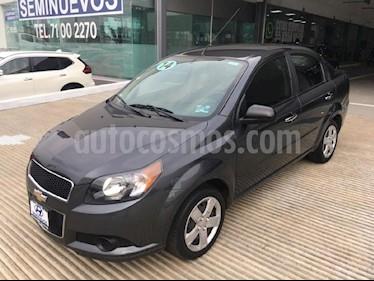 Foto venta Auto Seminuevo Chevrolet Aveo LT (2014) color Gris precio $119,000