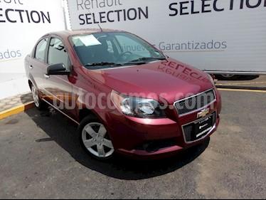 Foto venta Auto usado Chevrolet Aveo LT (2015) color Rojo Tinto precio $120,000