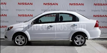 Foto venta Auto Seminuevo Chevrolet Aveo LT (2015) color Blanco precio $130,000
