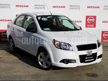 Foto venta Auto usado Chevrolet Aveo LT (2015) color Blanco precio $119,000