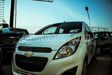 Foto venta Auto usado Chevrolet Aveo LT (2017) color Blanco precio $126,000