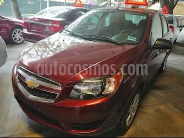Foto venta Auto usado Chevrolet Aveo LT (2017) color Rojo Victoria precio $169,000