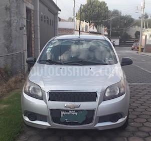 Chevrolet Aveo LT usado (2013) color Plata precio $89,000