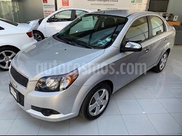 Foto venta Auto usado Chevrolet Aveo LT (2015) color Plata precio $130,000
