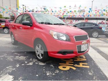 Foto venta Auto usado Chevrolet Aveo LT (2015) color Rojo Victoria precio $105,000
