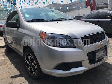 Foto Chevrolet Aveo LT usado (2015) color Plata precio $114,500