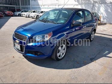 Foto venta Auto Seminuevo Chevrolet Aveo LT (2016) color Azul precio $140,000