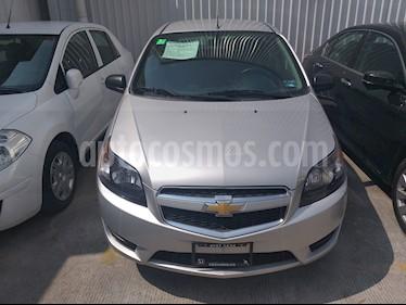 Foto venta Auto usado Chevrolet Aveo LT (2017) color Plata precio $135,000