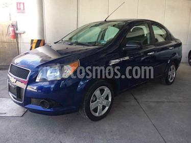 Foto venta Auto usado Chevrolet Aveo LT (2016) color Azul precio $110,000