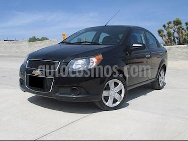 Foto venta Auto usado Chevrolet Aveo LT (2017) color Negro Grafito precio $156,000