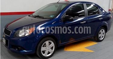 Foto venta Auto usado Chevrolet Aveo LT (2015) color Azul precio $115,000