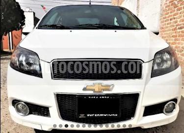 Foto venta Auto usado Chevrolet Aveo LT (2014) color Blanco precio $94,000