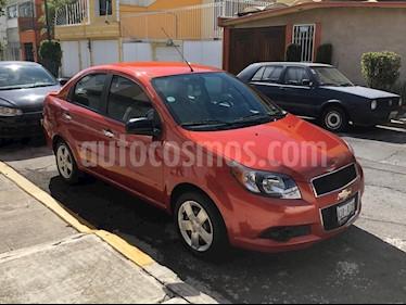 Chevrolet Aveo LT usado (2016) color Naranja precio $110,000