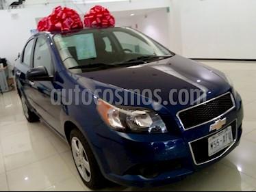 Foto venta Auto usado Chevrolet Aveo LT (2013) color Azul precio $115,000