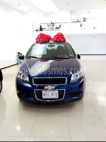 Foto venta Auto usado Chevrolet Aveo LT (2013) color Azul precio $120,000