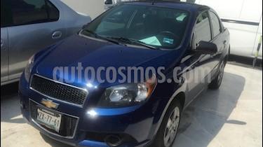 Foto Chevrolet Aveo LT usado (2016) color Azul Metalico precio $145,200