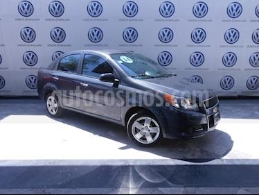Foto venta Auto usado Chevrolet Aveo LT (2014) color Gris precio $119,000