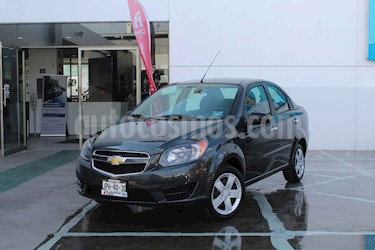 Foto Chevrolet Aveo LT usado (2018) color Gris precio $149,000