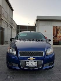 Foto Chevrolet Aveo LT usado (2015) color Azul Oscuro precio $107,000