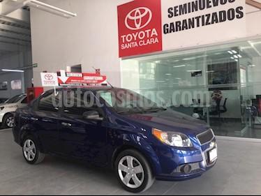 Foto venta Auto usado Chevrolet Aveo LT (2016) color Azul precio $129,000