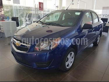 Foto venta Auto usado Chevrolet Aveo LT (2017) color Azul precio $137,800