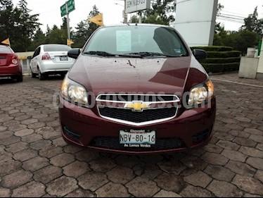 Foto venta Auto usado Chevrolet Aveo LT (2017) color Rojo Tinto precio $154,000
