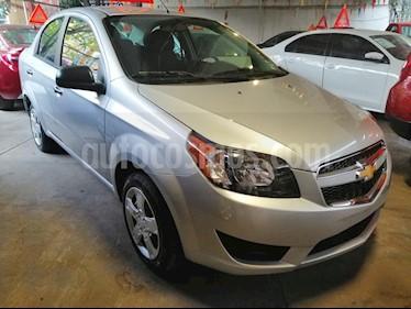 Foto venta Auto usado Chevrolet Aveo LT (2018) color Plata Brillante precio $169,000