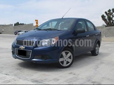 Foto venta Auto usado Chevrolet Aveo LT (2015) color Azul Metalico precio $123,000