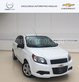 Foto venta Auto usado Chevrolet Aveo LT (2016) color Blanco precio $140,000