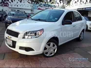 Foto venta Auto usado Chevrolet Aveo LT (2015) color Blanco precio $130,000