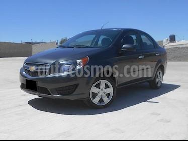 Foto venta Auto usado Chevrolet Aveo LT (2018) color Gris precio $178,000