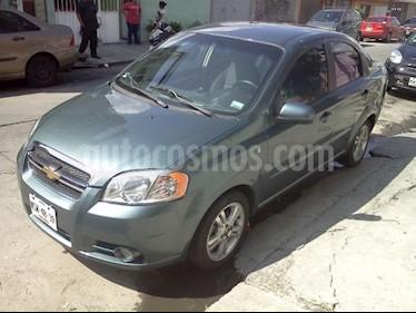 Foto venta Auto usado Chevrolet Aveo LT (2009) color Verde precio $78,000