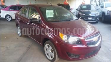 Foto venta Auto usado Chevrolet Aveo LT (2016) color Rojo Tinto