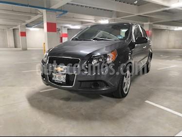 Foto venta Auto usado Chevrolet Aveo LT (2015) color Gris precio $135,000