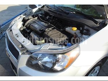 Foto venta Auto usado Chevrolet Aveo LT (2017) color Plata precio $145,000