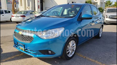 Foto venta Auto usado Chevrolet Aveo LT (2018) color Azul precio $169,900