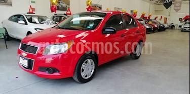 Foto venta Auto usado Chevrolet Aveo LT (2015) color Rojo precio $130,000