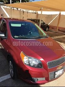 Foto venta Auto usado Chevrolet Aveo LT (2013) color Rojo precio $84,600