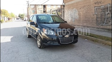 Foto venta Auto usado Chevrolet Aveo LT (2013) color Negro Grafito precio $73,000