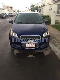 Foto Chevrolet Aveo LT usado (2016) color Azul Oscuro precio $134,000