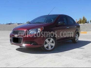 Foto venta Auto usado Chevrolet Aveo LT (2016) color Rojo precio $145,000