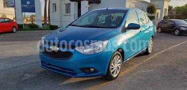 Foto Chevrolet Aveo LT usado (2019) color Azul precio $157,900