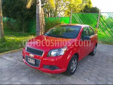 Foto venta Auto Seminuevo Chevrolet Aveo LT (2014) color Rojo precio $117,000