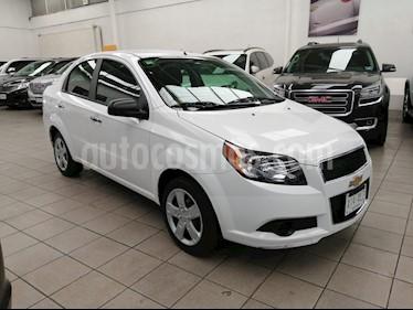 Foto venta Auto usado Chevrolet Aveo LT (2017) color Blanco precio $153,901