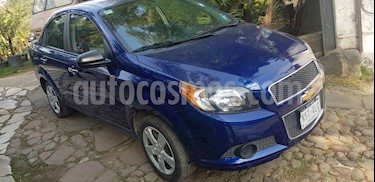 Foto venta Auto Seminuevo Chevrolet Aveo LT (2017) color Azul Metalico precio $137,000