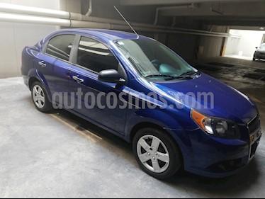 Chevrolet Aveo LT usado (2016) color Azul Metalico precio $145,000