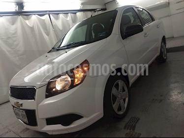 Foto venta Auto usado Chevrolet Aveo LT (2015) color Blanco precio $115,000