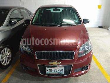 Chevrolet Aveo LT usado (2016) color Rojo Tinto precio $129,000